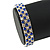 Sapphire Blue/ Clear Flex Bracelet in Silver Tone - 17cm L - view 4
