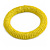 Banana Yellow Glass Bead Roll Stretch Bracelet - Adjustable