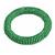 Apple Green Glass Bead Roll Stretch Bracelet - Adjustable