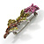 Exquisite Swarovski Crystal Rose Brooch - view 6