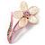 Sparkling Daisy Flower Brooch