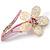 Sparkling Daisy Flower Brooch - view 2