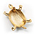 Fortunate Crystal Enamel Turtle Brooch (Gold&Olive) - view 4