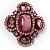 Precious Heirloom Brooch (Pink)