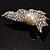 Crystal Shell Faux Pearl Fashion Brooch - view 10