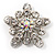 Crystal Star Fashion Brooch