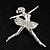 'Dancing Ballerina' Fashion Brooch - view 8
