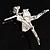 'Dancing Ballerina' Fashion Brooch - view 6