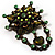 Vintage Statement Charm Brooch (Olive Green) - view 3