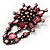 Vintage Statement Charm Brooch (Pink) - view 2