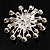 Sparkling Clear Crystal Corsage Brooch - view 3