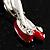 Swarovski Crystal Fairy Brooch (Silver Tone) - view 3