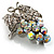 AB Crystal Bunch Of Grapes Brooch - view 8