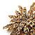 Vintage Gold Tone Swarovski Crystal Star Brooch/Pendant - view 4
