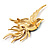 Exotic Multicoloured Flying Fire-Bird Brooch - view 4
