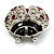 Red Enamel Ladybug Brooch (Silver Tone) - view 10