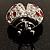 Red Enamel Ladybug Brooch (Silver Tone) - view 4