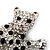 Swarovski Crystal Leopard Brooch (Silver Plated Finish) - view 3