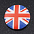 4pcs Union Jack Flag Lapel Pin Button Badge - 3cm Diameter - view 6