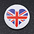4pcs Union Jack Heart Lapel Pin Button Badge - 3cm Diameter - view 7