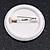 Union Jack Heart Lapel Pin Button Badge - 3cm Diameter - view 3