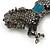 Hematite Coloured Swarovski Crystal Horse Brooch In Gun Metal Tone - 70mm Across - view 8