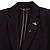 Silver Tone Clear Crystal Black Enamel Bee Lapel, Hat, Suit, Tuxedo, Collar, Scarf, Coat Stick Brooch Pin - 60mm L - view 2