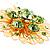 Jumbo Lightgreen Floral Earrings - view 6