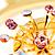 Gold Vortex Hoop Earrings - view 2
