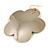 Oversized Gold-Tone Flower Dangle Earrings - view 2