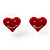 Silver-Tone Heart, Daisy & Star Stud Earring Set - view 6