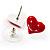 Silver-Tone Heart, Daisy & Star Stud Earring Set - view 7