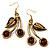 Ethnic Cherry Handmade Drop Earrings