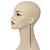 Long Tassel With Crystal Bow Earrings In Gun Metal - 15cm Length - view 3