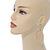 Gold Plated Filigree Leaf Drop Earrings - 85mm L - view 2