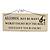 'ALCOHOL May Be Man's Worst Enemy But The Bible Says Love Your Enemy' Alcohol Quote Wooden Novelty Rectangle Plaque Sign Gift