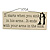 It starts when you sink in his arms... Funny Relationship Family Quote Rectangular Wooden Novelty Plaque Sign