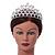 Statement Bridal/ Wedding/ Prom Rhodium Plated Austrian Crystal Tiara - view 2