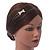 Bridal/ Wedding/ Prom Rhodium Plated Clear Crystal Bow Tiara Headband - view 2