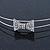 Bridal/ Wedding/ Prom Rhodium Plated Clear Crystal Bow Tiara Headband - view 3