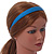 Teal Blue Polished Acrylic Alice/ Hair Band/ HeadBand - view 2