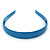 Teal Blue Polished Acrylic Alice/ Hair Band/ HeadBand - view 6