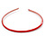 Thin Red Polished Acrylic Alice/ Hair Band/ HeadBand - view 4