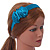 Teal Green Silk With Side Bow Alice/ Hair Band/ HeadBand - view 2