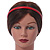 Snake Print Leather Style Red Alice/ Hair Band/ HeadBand - view 5