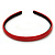 Snake Print Leather Style Red Alice/ Hair Band/ HeadBand - view 7