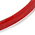 Snake Print Leather Style Red Alice/ Hair Band/ HeadBand - view 4