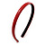 Snake Print Leather Style Red Alice/ Hair Band/ HeadBand