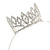 Statement Full Round Clear Crystal Queen Crown Rhinestone Bridal Tiara Headband Pageant Prom Wedding Hair Jewellery - view 5