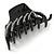 Black Acrylic Hair Claw - 85mm Width - view 8